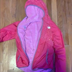 north face reversible snow jacket